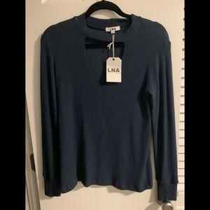 Tops - LNA sweater tee new size m